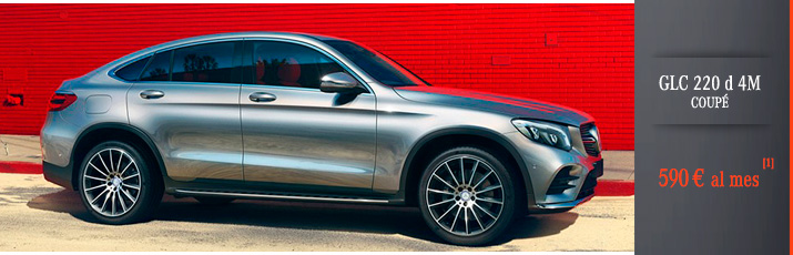 Oferta GLC 220 d 4 Matic Coupé con Mercedes-Benz Renting